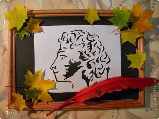 Поделка на тему а.с.пушкин